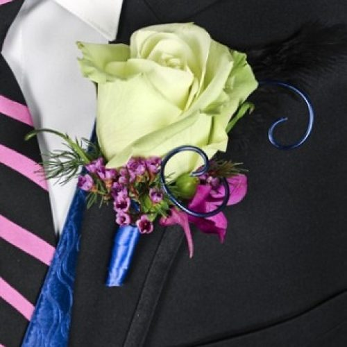 A Night to Remember Prom Boutonniere