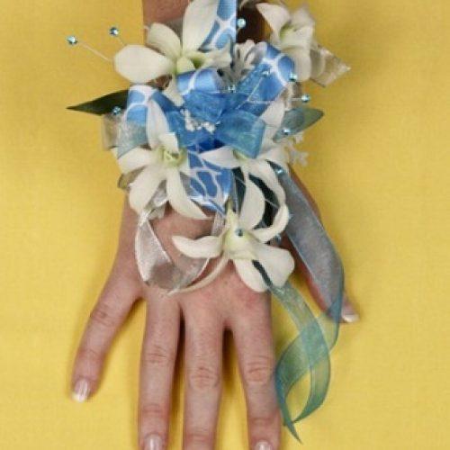 Blue Heaven Prom Corsage