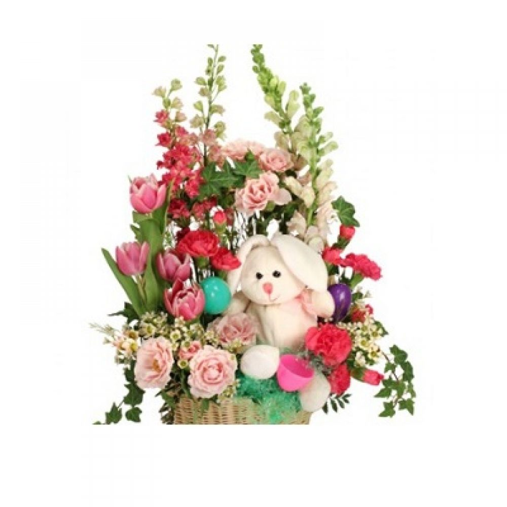 Bunny Blooms Basket Arrangement