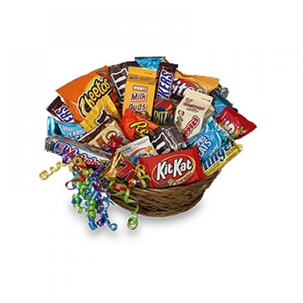 Junk Food Gift Basket