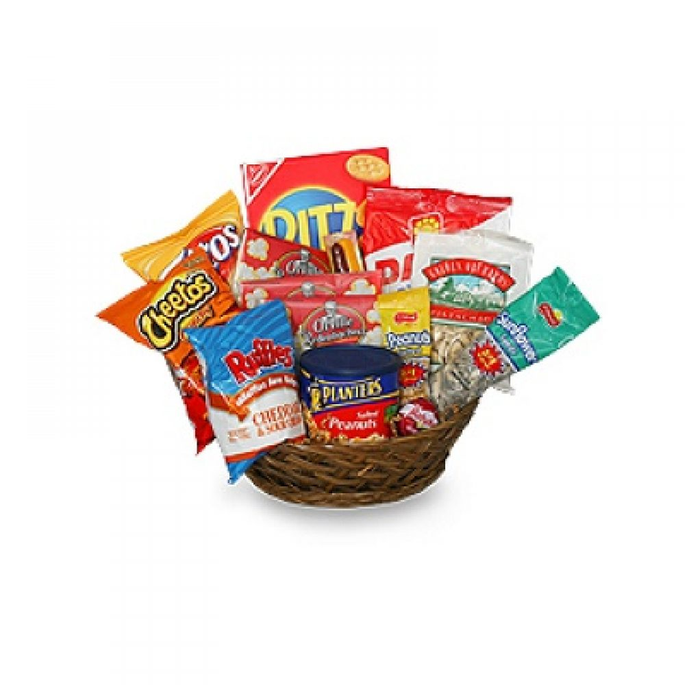Salty Snacks Gift Basket