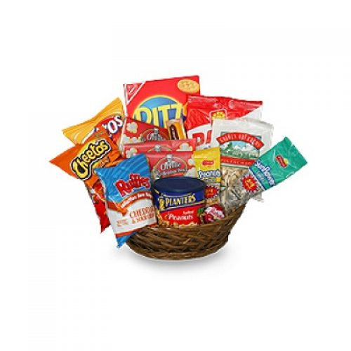 Salty Snacks Gift Basket