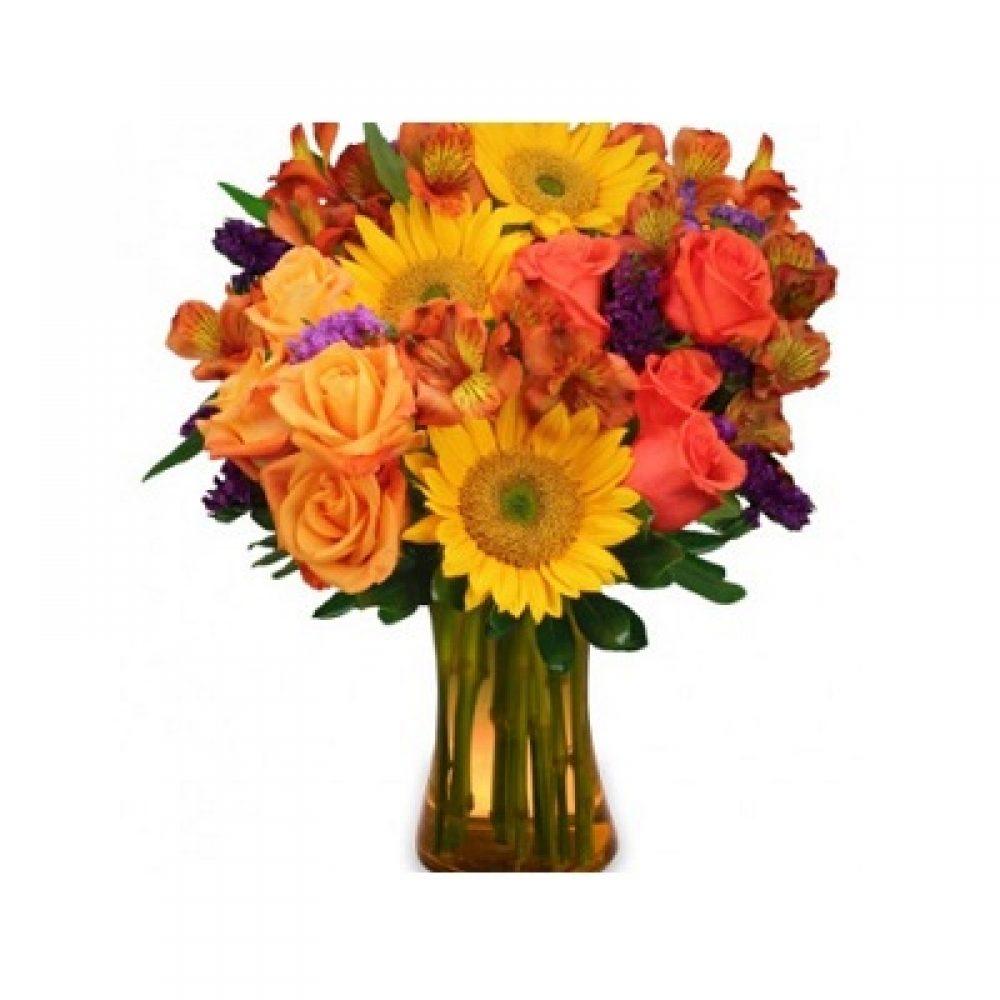 Sunflower Sampler Arrangement